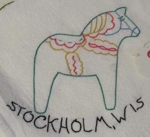 Souvenir Flour Sack Towels